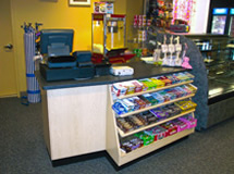 Cashwrap Check Out Counter Accent Store Fixtures